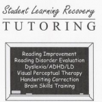 Student Learning Recovery Tutoring and Therapy